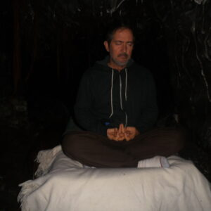 300 m deep in meditation