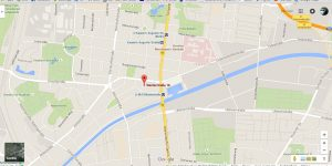 Google map to Werder Str. 18